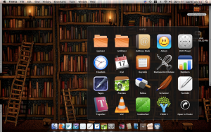 Image of my programs folder showing icons for the programs described below